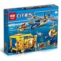 Конструктор. City (1016дет) 02088 Глубоководная исследовательская база