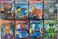 Конструктор. Avengers (Супер герои) 0220 E