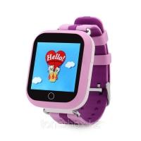 Детские часы с GPS Smart Baby Watch Q100 (розовые)