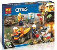 Конструктор. Cities (106дет) 10873 Бригада шахтерев