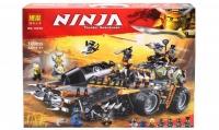 Конструктор. Ninja (1230дет) 10939 / 06089 Стремительный странник