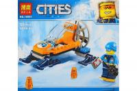Конструктор. Cities (56дет) 10991 Аэросани