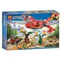 Конструктор. Cities (381+дет) 11214 Пожарный вертолет