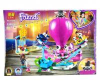 Конструктор. Friends (855дет) 11378 Парк Развлечений (веселый осьминог)