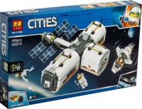 Конструктор. Cities (436дет) 11386 Лунная космическая станция