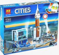 Конструктор. Cities (873дет) 11387 Ракета для запуска в далекий космос