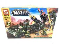 Конструктор. War (Война) (411дет) 123-321