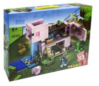 Конструктор. Майнкрафт (Minecraft) (403дет) 6036 Дом-свинья