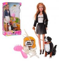 Кукла с питомцем, в коробке 8428