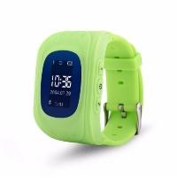Детские часы с GPS Wonlex Q50 (зеленые)
