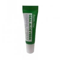 Farm Stay. Real Aloe Vera essential lip balm - Суперувлажняющий бальзам для губ с алоэ. 10мл