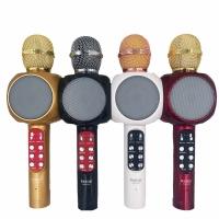 Микрофон караоке WSTER WS-1816, беспроводной, bluetooth 1250р