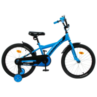 """Велосипед 18"""" Graffiti Spector, цвет неоновый синий   5267484"""