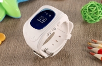 Детские часы с GPS Smart Baby Watch Q50 (белые)