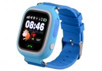 Детские часы с GPS Wonlex GW100 (Q90) (голубые)