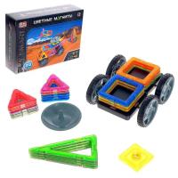 Конструктор магнитный «Цветные магниты», 24 детали 6631991 2465