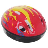 Шлем защитный детский OT-H6, размер S (52-54 см),  цвет красный 134247