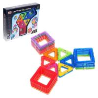 Конструктор магнитный «Цветные магниты», 30 деталей 6631989