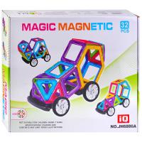 Магнитный конструктор 32 дет в коробке JH6886A
