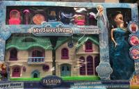 Холодное сердце (Frozen) Набор: кукла + дом + аксессуары. 3385-6