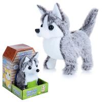 """Интерактивная игрушка """"Щеночек: Малыш корги"""" 17см, серо-белый  MAC0601-117"""