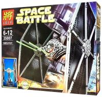 Конструктор. Star Wars (Звездные войны) (1658дет) 35007 Истребитель TIE