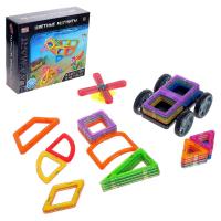 Конструктор магнитный «Цветные магниты», 36 деталей 6631994 2468
