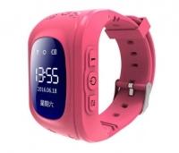Детские часы с GPS Smart Baby Watch Q50 (розовые)