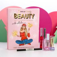 """Адвент-календарь """"Let's Winter Party"""", 7 предметов для идеального макияжа   4895426"""
