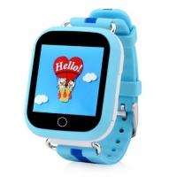 Детские часы с GPS Smart Baby Watch Q100 (голубые)