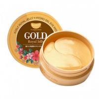 Koelf. GOLD - Патчи с маточным молочком и микрочастицами золота