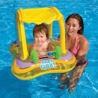Круг для плавания с сиденьем и навесом, 81 х 66 см, от 1-2 лет, цвета МИКС, 56581 NP INTEX