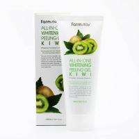 Farm Stay. All-In-One Whitening Peeling Gel Kiwi - Осветляющий пилинг-гель с экстрактом киви