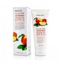 Farm Stay. All-In-One Whitening Peeling Gel Apple - Осветляющий пилинг-гель с экстрактом яблока