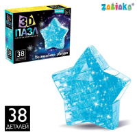 3D пазл кристаллический «Волшебная звезда» 6494435