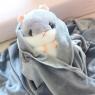 Хомяк 4 в 1 (игрушка, подушка, плед + карманы) 40 см