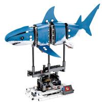 Конструктор. Innovate (342дет) 7006 Электрическая синяя акула