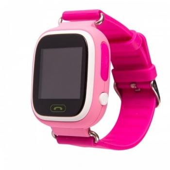 Детские часы с GPS Wonlex GW100 (Q90) (розовые)