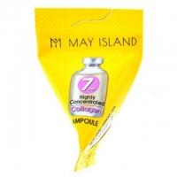 May Island. 7 days Highly Concentrated Collagen Ampoule - Высококонцентрированная сыворотка с коллагеном (треугольник) 7гр
