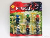 Конструктор. Ninja. Фигурки 6в1. 89126