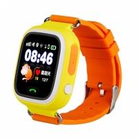 Детские часы с GPS Smart Baby Watch Q90 (G72) (оранжевые)