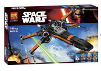 Конструктор. Star Wars (Звездные войны) (742дет) 10466. X-Wing T-70 истребитель По Дамерона