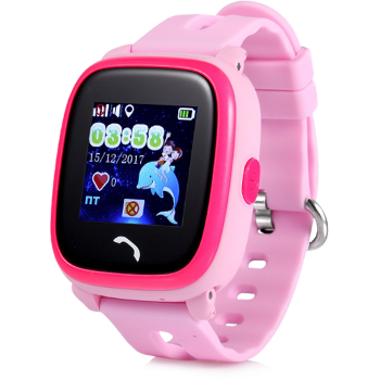 Детские часы с GPS Wonlex GW400s (розовые)