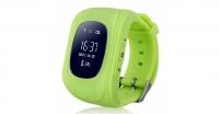 Детские часы с GPS Smart Baby Watch Q50 (зеленые)