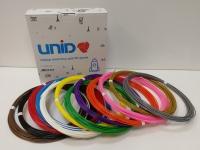 Набор пластика для 3D ручек: ABS-12 (по 10м. 12 цветов в коробке)