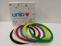 Набор пластика для 3D ручек: ABS-6 (по 10м. 6 цветов в коробке)