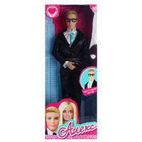 """Кукла """"Алекс"""" 29 см, (в костюме и в очках)"""
