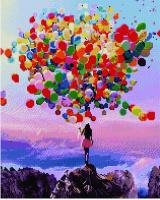 APK 16018 Разноцветные шары