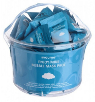 Ayoume. Enjoy Mini Bubble Mask Pack - Очищающая пузырьковая маска, 3гр