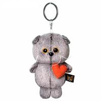 Брелок Кот Басик с сердечком. АВВ-012 5361215